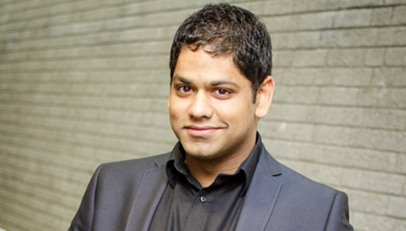 Alpesh Chauhan is CBSO's Assistant Conductor